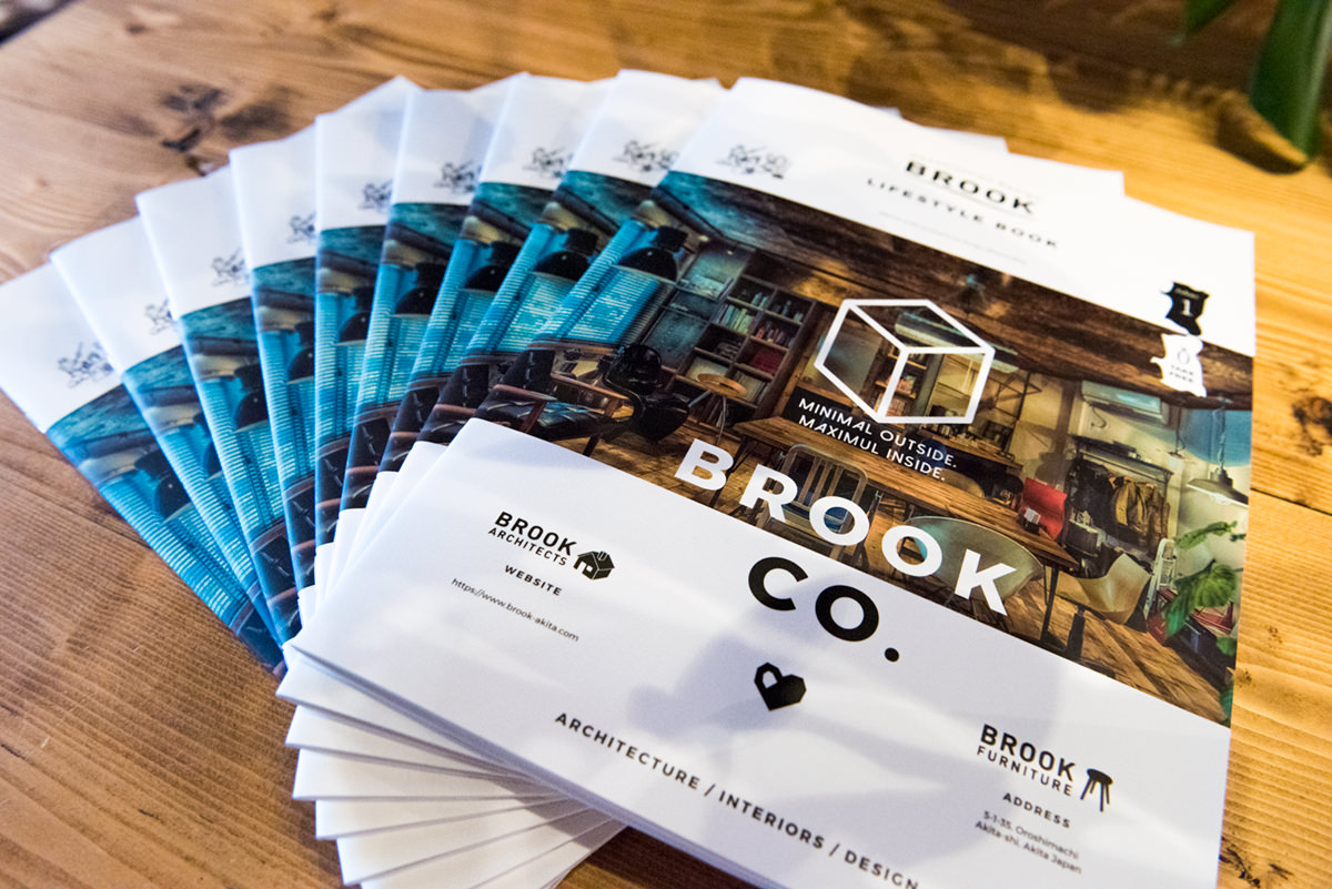 BROOK LIFE STYLE BOOK Vol.1の設置店舗